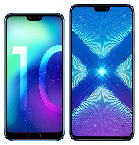 Smartphonevergleich: Honor 10 oder Honor 8x