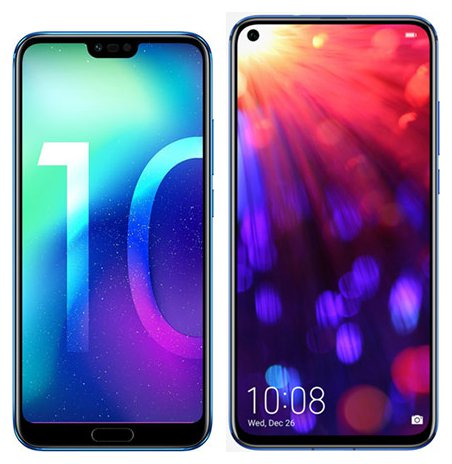 Smartphonevergleich: Honor 10 oder Honor view 20