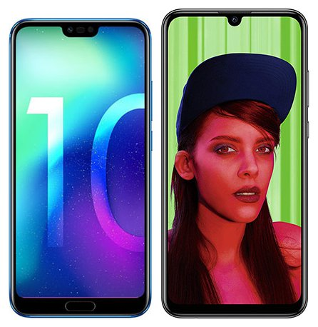 Smartphonevergleich: Honor 10 oder Huawei p smart plus 2019