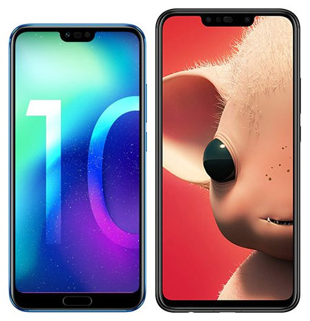 Smartphonevergleich: Honor 10 oder Huawei p smart plus