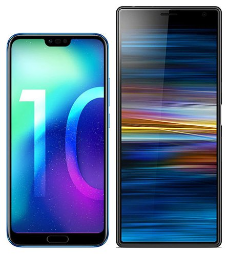 Smartphonevergleich: Honor 10 oder Sony xperia 10 plus