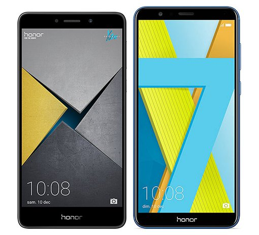 Smartphone Comparison: Honor 6x pro vs Honor 7x