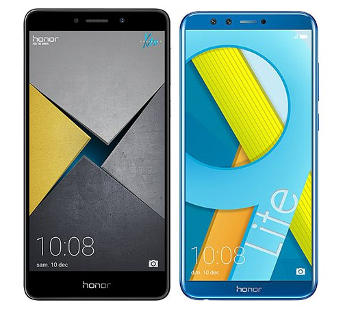 Smartphone Comparison: Honor 6x pro vs Honor 9 lite