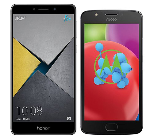 Smartphone Comparison: Honor 6x pro vs Motorola moto e4