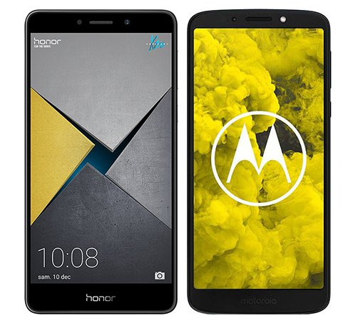 Smartphone Comparison: Honor 6x pro vs Motorola moto g6 play