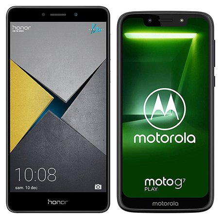 Smartphone Comparison: Honor 6x pro vs Motorola moto g7 play