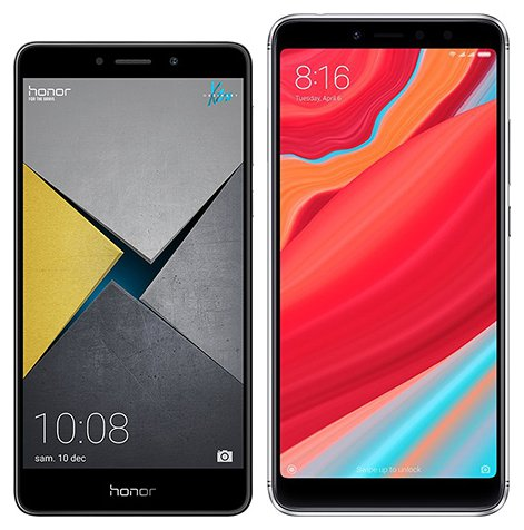 Smartphone Comparison: Honor 6x pro vs Xiaomi redmi s2