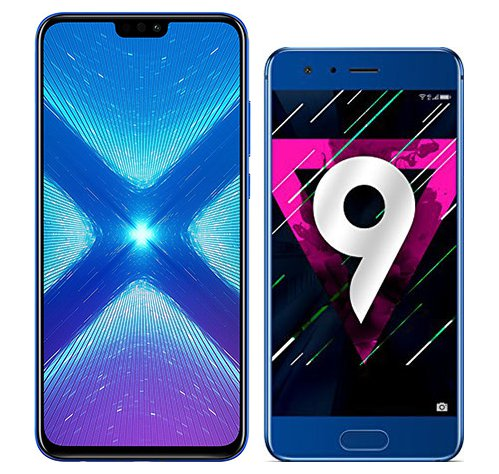 Smartphone Comparison: Honor 8x vs Honor 9