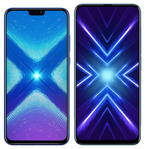 Smartphone Comparison: Honor 8x vs Honor 9x