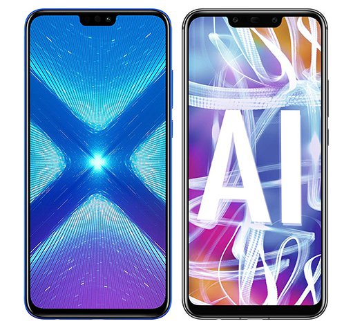 Smartphone Comparison: Honor 8x vs Huawei mate 20 lite