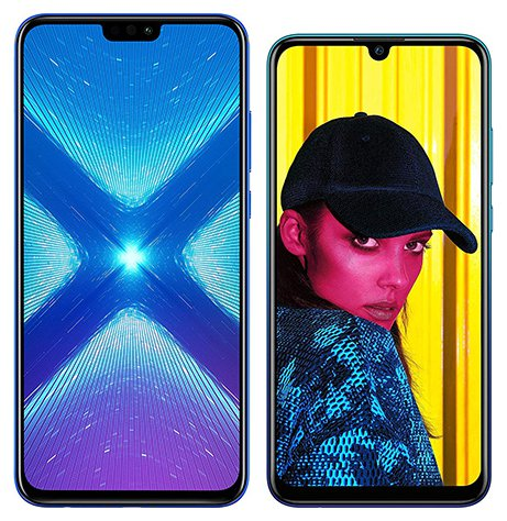 Smartphone Comparison: Honor 8x vs Huawei p smart 2019