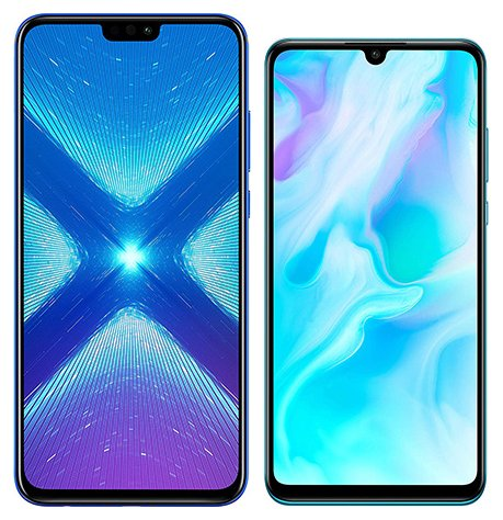 Smartphone Comparison: Honor 8x vs Huawei p30 lite