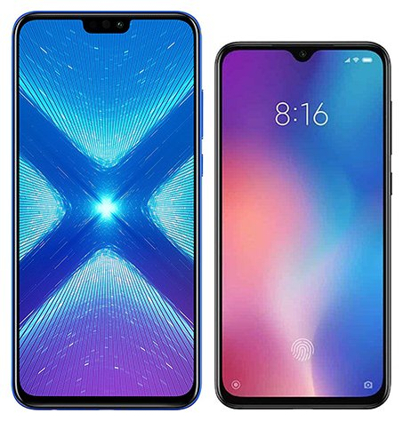Smartphone Comparison: Honor 8x vs Xiaomi mi 9 se