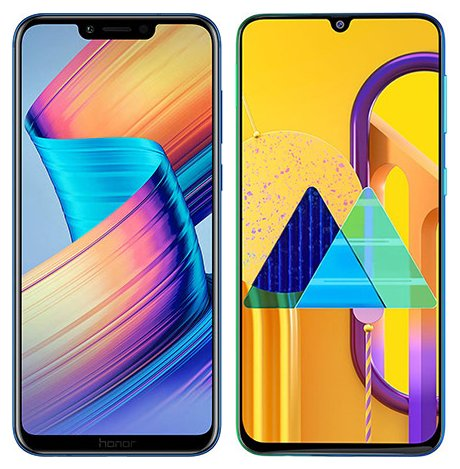 Smartphonevergleich: Honor play oder Samsung galaxy m30s