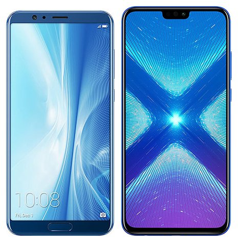 Smartphonevergleich: Honor view 10 oder Honor 8x