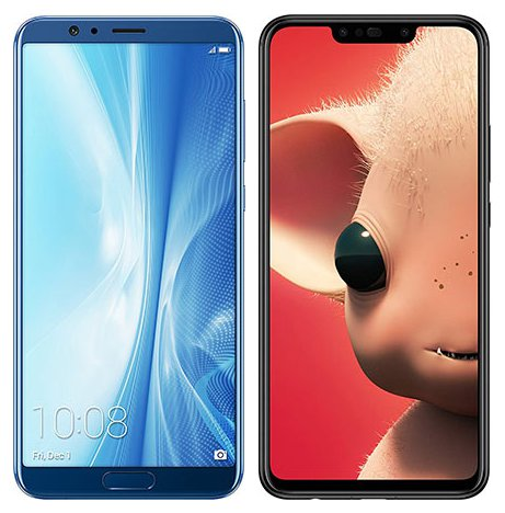 Smartphonevergleich: Honor view 10 oder Huawei p smart plus