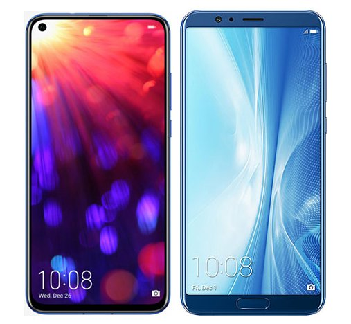 Smartphone Comparison: Honor view 20 vs Honor view 10