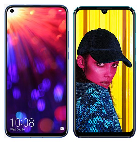 Smartphone Comparison: Honor view 20 vs Huawei p smart 2019