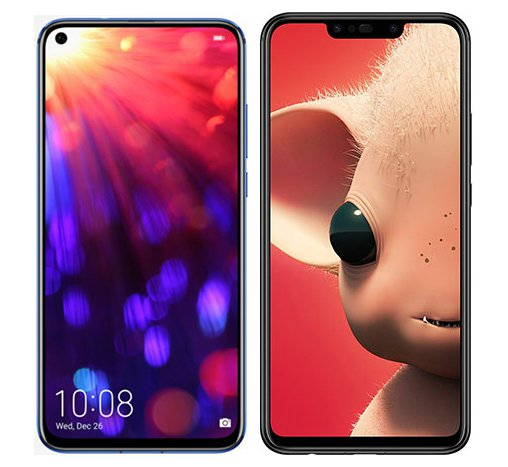 Smartphonevergleich: Honor view 20 oder Huawei p smart plus