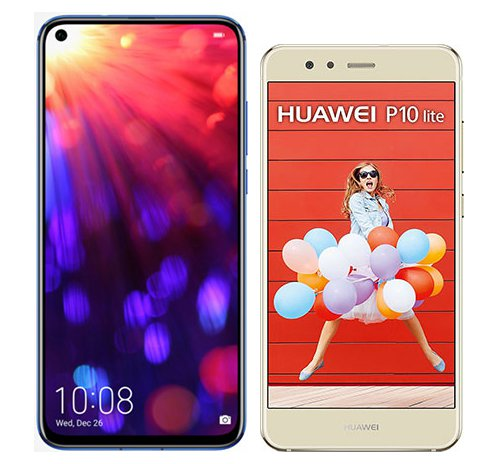 Smartphone Comparison: Honor view 20 vs Huawei p10 lite