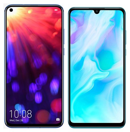 Smartphone Comparison: Honor view 20 vs Huawei p30 lite