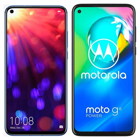 Smartphone Comparison: Honor view 20 vs Motorola moto g8 power