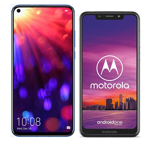 Smartphone Comparison: Honor view 20 vs Motorola one