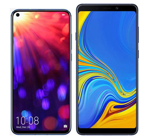 Smartphone Comparison: Honor view 20 vs Samsung galaxy a9
