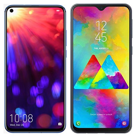 Smartphone Comparison: Honor view 20 vs Samsung galaxy m20