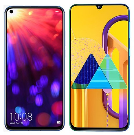 Smartphone Comparison: Honor view 20 vs Samsung galaxy m30s