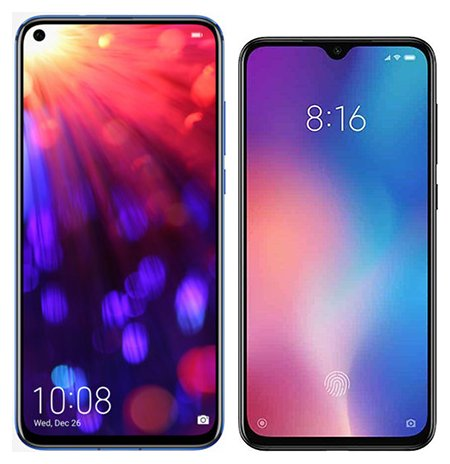 Smartphone Comparison: Honor view 20 vs Xiaomi mi 9 se
