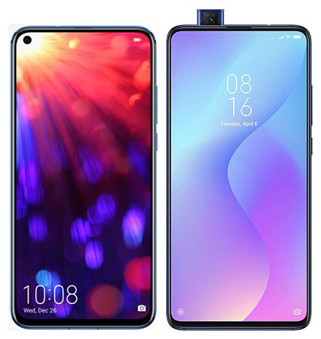 Smartphone Comparison: Honor view 20 vs Xiaomi mi 9t