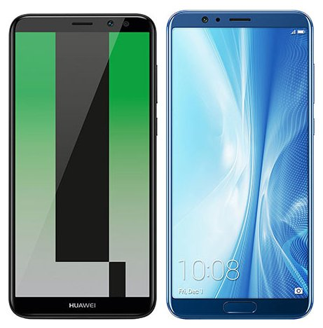 Smartphonevergleich: Huawei mate 10 lite oder Honor view 10