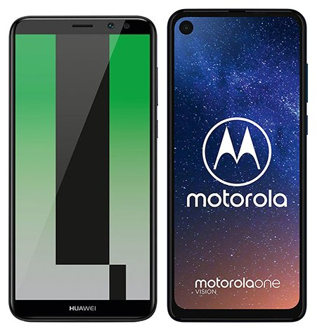 Smartphonevergleich: Huawei mate 10 lite oder Motorola one vision