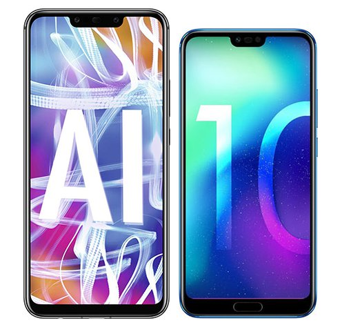 Smartphone Comparison: Huawei mate 20 lite vs Honor 10