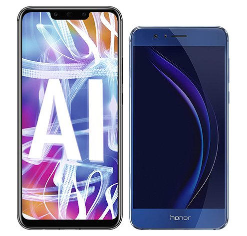 Smartphone Comparison: Huawei mate 20 lite vs Honor 8