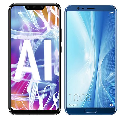 Smartphone Comparison: Huawei mate 20 lite vs Honor view 10