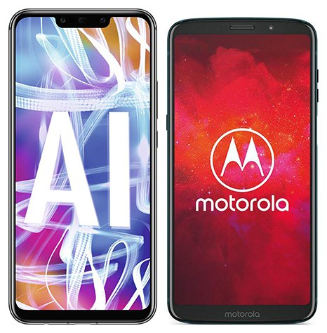 Smartphone Comparison: Huawei mate 20 lite vs Motorola moto z3 play