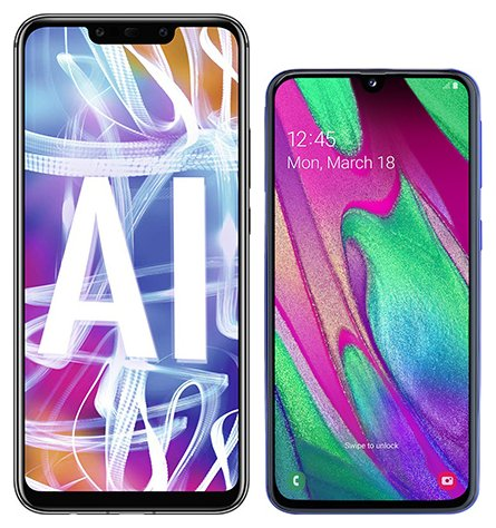 Smartphone Comparison: Huawei mate 20 lite vs Samsung galaxy a40