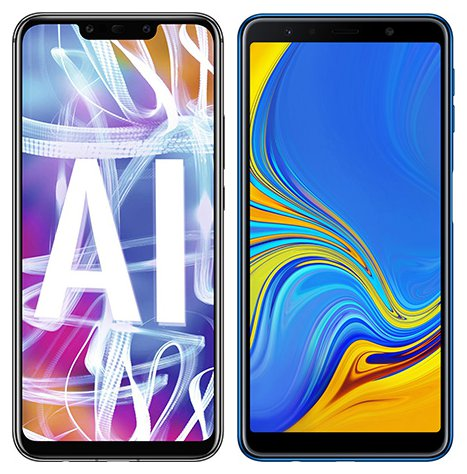 Smartphone Comparison: Huawei mate 20 lite vs Samsung galaxy a7 2018