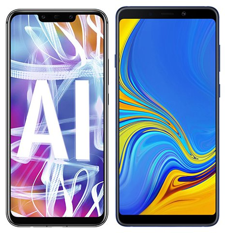 Smartphone Comparison: Huawei mate 20 lite vs Samsung galaxy a9
