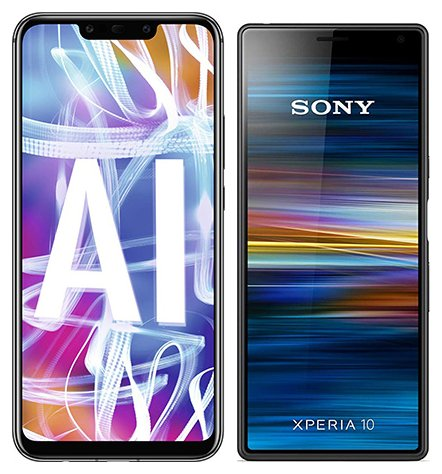 Smartphone Comparison: Huawei mate 20 lite vs Sony xperia 10