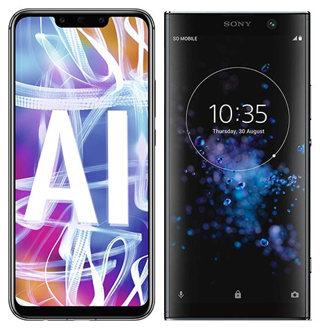 Smartphone Comparison: Huawei mate 20 lite vs Sony xperia xa2 plus