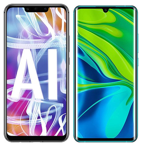 Smartphone Comparison: Huawei mate 20 lite vs Xiaomi note 10