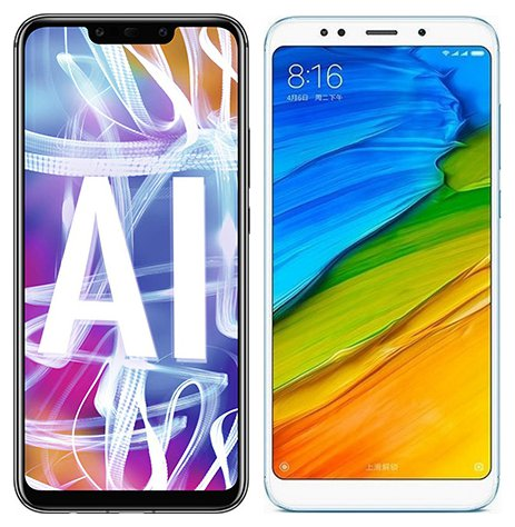 Smartphone Comparison: Huawei mate 20 lite vs Xiaomi redmi 5 plus