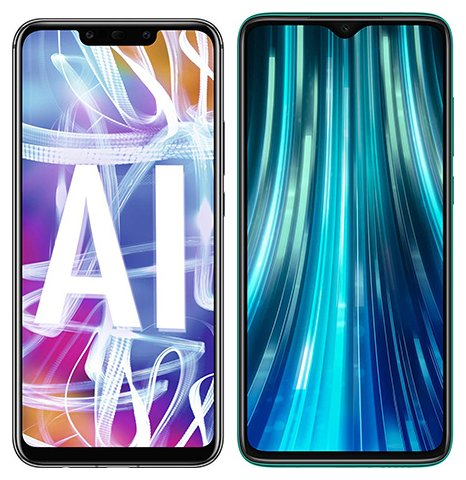 Smartphone Comparison: Huawei mate 20 lite vs Xiaomi redmi note 8 pro