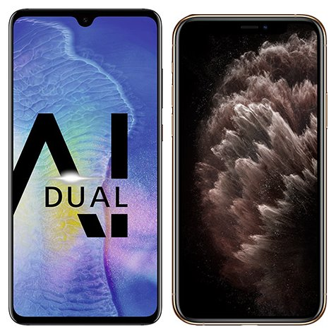 Smartphone Comparison: Huawei mate 20 vs Iphone 11 pro max