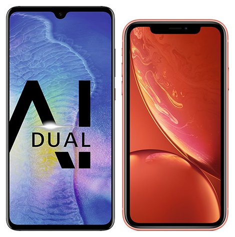 Smartphone Comparison: Huawei mate 20 vs Iphone xr