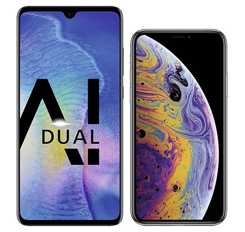 Smartphone Comparison: Huawei mate 20 vs Iphone xs