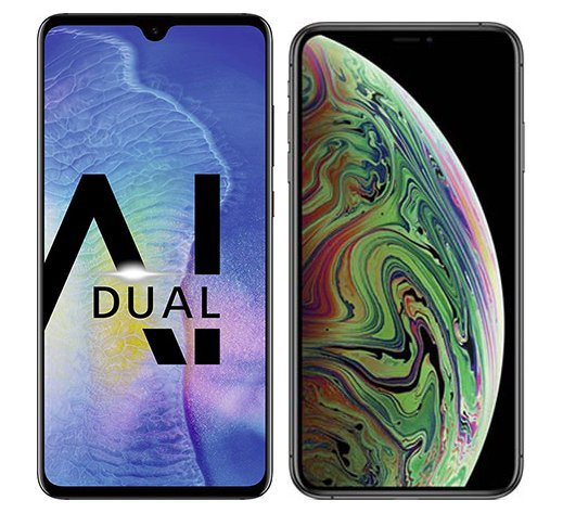 Smartphone Comparison: Huawei mate 20 vs Iphone xs max
